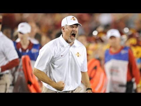 Paul Rhoads - Iowa State Football Head Coach Paul Rhoads Post-Game Media Conference after Texas game.