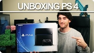 UNBOXING PLAYSTATION 4!! - [Luzugames]