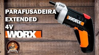 Parafusadeira Sem Fio 4V Extended - Worx