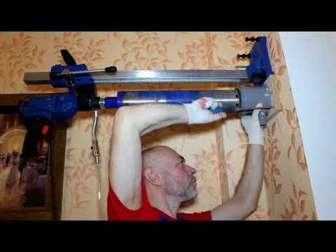 Установка клапана Norvind pro в стену с вентилируемым фасадом