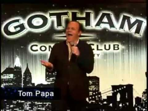 TWTComedy JOKES with Tom Papa about Wall Street @ Gotham Club in New York City