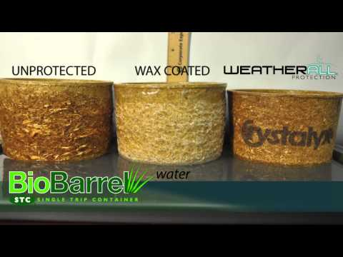 CRYSTALYX® BioBarrel® With WeatherAll® Protection Water Comparison