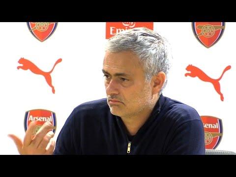 Arsenal 2-0 Manchester United - Jose Mourinho Full Post Match Press Conference (видео)