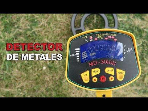 MD-3010II, review de un detector de metales