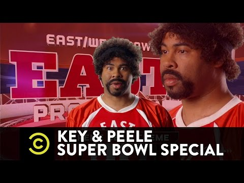 Key & Peele Super Bowl sketch featuring NFL players.