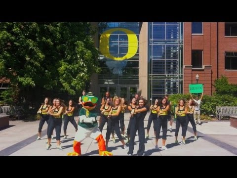 The Oregon Duck - Gangnam Style Parody