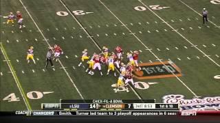Barkevious Mingo vs Clemson (2012)