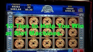 Video 10 Tips to help you win at slot machines. MP3, 3GP, MP4, WEBM, AVI, FLV September 2019