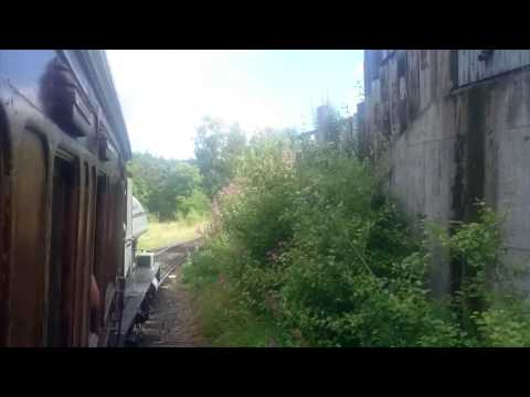 A ride on the Beamish Railway from Rowley Station 19th Au...