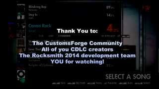 A quick but descriptive video on how to install and use CDLC (Custom DLC) songs within Rocksmith 2014. Finally, the...