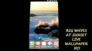 Sunset Ocean Live Wallpaper 2 YouTube video