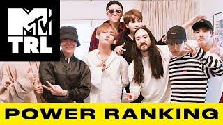BTS Smashes a Streaming Milestone, Ariana Grande Drops 'Thank U, Next' & More!  TRL Power Ranking