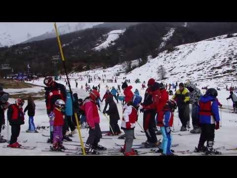 Estação de ski em Cerro Catedral