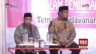 Video [ Full ] Debat Calon walikota Gorontalo 18 Juni 2018 MP3, 3GP, MP4, WEBM, AVI, FLV Juni 2018