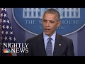 A Look Back At President Barack Obama: Father-In-Chief   NBC Nightly News