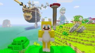 Minecraft: Super Mario Edition - Bowser's Airship {1}