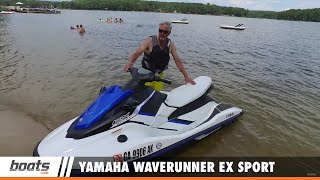 5. Yamaha Waverunner EX Sport: First Look Video