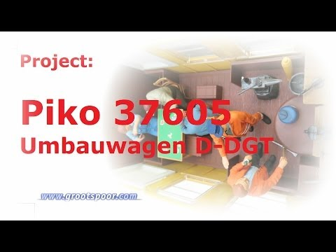 Project: Piko 37605 - Umbauwagen D-DGT