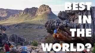 Bouldering in PARADISE! || Rocklands South Africa by Bouldering Bobat