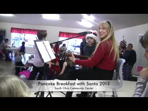 Pancake breakfast with Santa 2013
