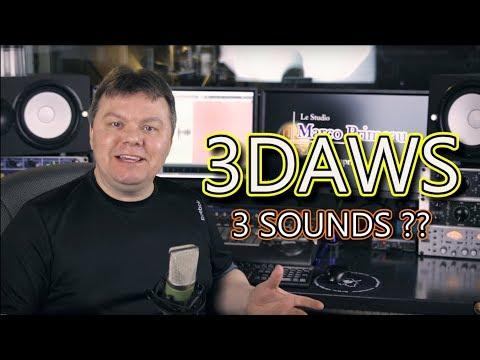 3 DAWs - 3 sounds?? Reaper vs Sonar vs Samplitude - PART 1 of 3