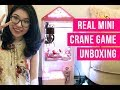 Real Mini Claw Machine Unboxing