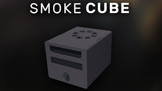 Smoke Cube - The worlds smallest smoke machine