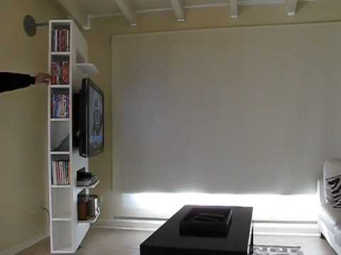 Muebles plasma videos videos relacionados con muebles for Mueble giratorio tv