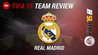 A FIFA 15 team review on REAL MADRID feat. worldclass players like Ronaldo, Bale and more!Subscribing would be highly appreciated - http://goo.gl/oJVMLG▼Click here for additional information! :-)Link to the channel of Patrick: http://goo.gl/aJr2ic• Pre-order FIFA 15 and support bPartGaming for free!http://goo.gl/fHGIcGThanks!• FIFA 15 VideosWe have been invited to EA in Cologne, Germany and we already captured some FIFA 15 videos. As in thise case, you can see a of REAL MADRID CF.• Social MediaFacebook: http://bit.ly/bPG-FacebookTwitter: http://bit.ly/bPG-TwitterGoogle+: http://bit.ly/bPG-Googleplus