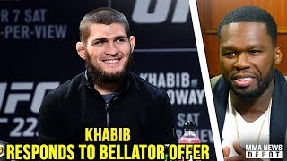 Video 50 Cent offers Khabib $2 million to join Bellator; Khabib responds; Max on DC; Lee on Conor rematch MP3, 3GP, MP4, WEBM, AVI, FLV Oktober 2018