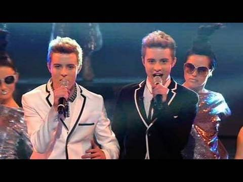 john and edward - The X Factor 2009: Despite the trouble in the press, John & Edward take to the stage. Will they get your vote? See more at http://www.itv.com/xfactor.