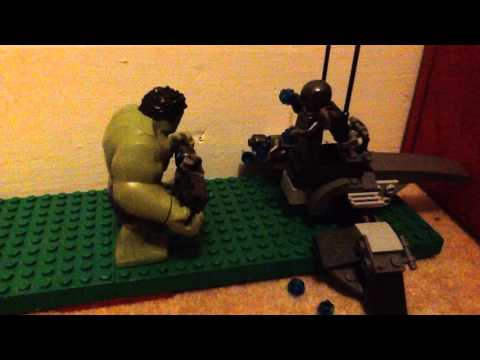 CAMS STOP MOTION Battle of Iron Man and Ultron