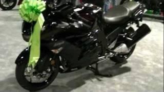 8. 2012 Kawasaki ZX14R Ninja Motorcycle