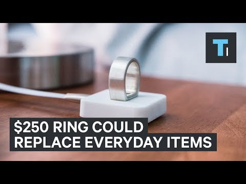 This $250 ring could replace your credit cards, keys, and a lot of other everyday items