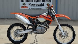 9. SALE $7,649:  2014 KTM 450 XC-F Overview and Review