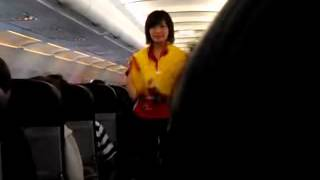 Video AirAsia awesome safety measures announcement with new attire - JEANS MP3, 3GP, MP4, WEBM, AVI, FLV Juni 2018