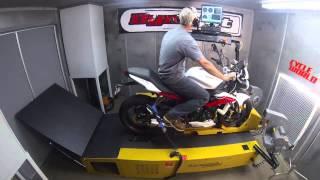 10. Triumph Street Triple R - Dyno Test