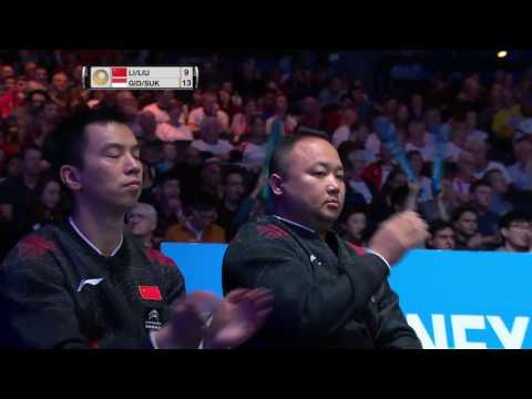 Yonex All England Open 2017 | Badminton F M4-md | Li/liu Vs Gid/suk
