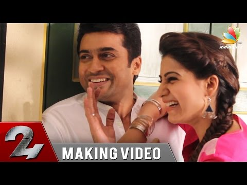 Video Surya's 24 Movie Making | Samantha, Nithya Menen, Vikram Kumar download in MP3, 3GP, MP4, WEBM, AVI, FLV January 2017