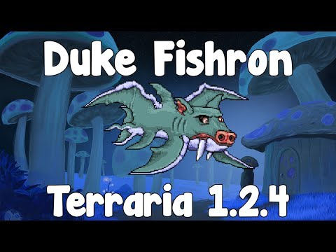 Instant video play duke fishron how to summon for Fishing poles terraria
