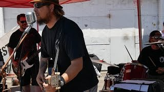 Grit Dogs rocking out on a blazing Sunday 6/19/2016 at #centurymotorycle in #sanpedro