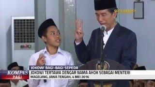 Video Jokowi Tertawa Saat Seorang Santri Sebut Ahok Sebagai Menteri MP3, 3GP, MP4, WEBM, AVI, FLV Juni 2019