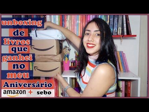 ?UNBOXING de Aniversários ?| Leticia Ferfer | Livro Livro Meu