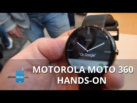 Motorola Moto 360 hands-on