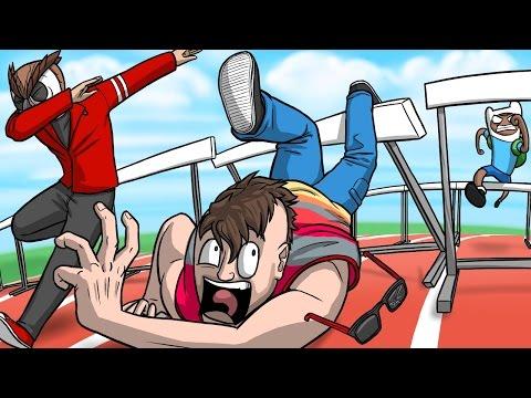 Gmod Deathrun Fun - The Dab Olympics! (Garry's Mod Funny Moments) (видео)