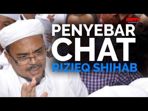 Penyebar Chat Rizieq Shihab