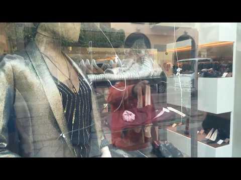 Incisione Pellicola Antigraffiti negozio abbigliamento Milano
