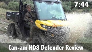 7. Can am HD8 Defender Review