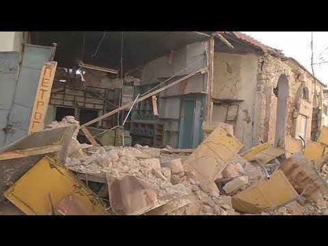 Η επόμενη μέρα στη σεισμόπληκτη Λέσβο