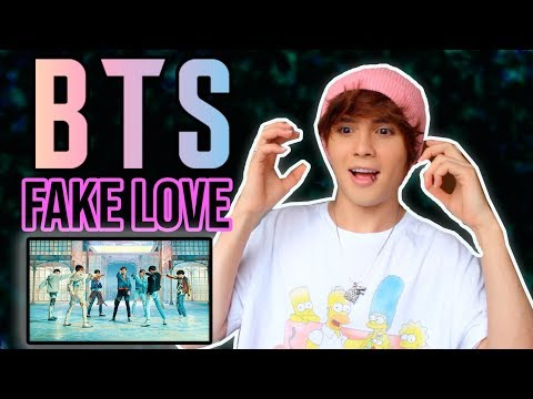 REACCIONANDO A FAKE LOVE DE BTS  K POP // LIBARDO ISAZA
